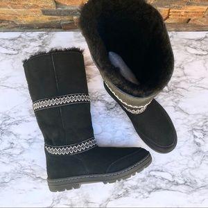 UGG Sundance Revival Folklore Tall Sheepskin Boots